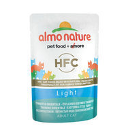Almo Nature LIGHT pour chat, 6 x 55 g