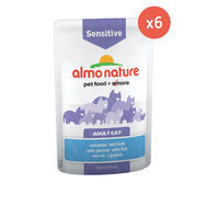 Sachet pour chat sensible SENSITIVE 6 x 70 g