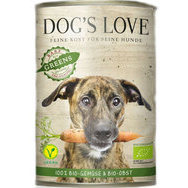 Pâtée légumes et fruits Bio Dog's Love 6 x 400 g