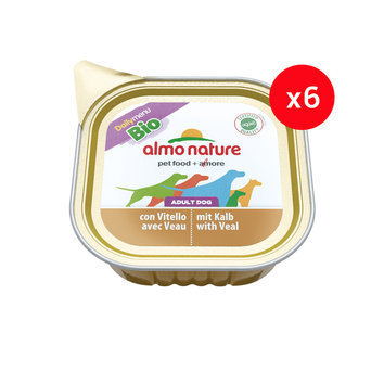 Daily Menu Bio chien Almo Nature, 6 x 100 g