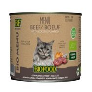 Pâtée Bio chat chaton BF Petfood 12 x 200 g